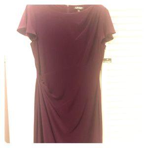 Ralph Lauren short sleeve, mid length dress